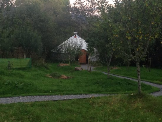Ireland Glamping - Pink Apple Orchard : Yurt