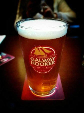 Tom Sheridan's Bar and Restaurant : A pint of IPA Galway Hooker