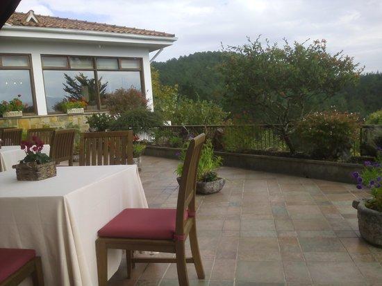 Andra Mari Restaurant : Terraza exterior.