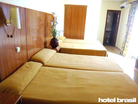 Hotel Brasil: Habitación familiar