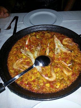 Mellalyene, Maroko: Super paella