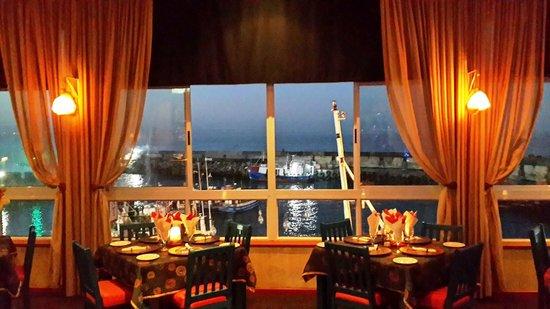 Chokka Block Restaurant: View at Night