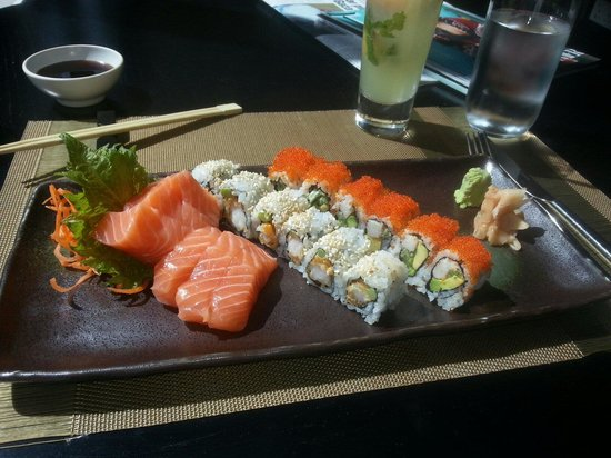 Spice Market: Great sushi, great service