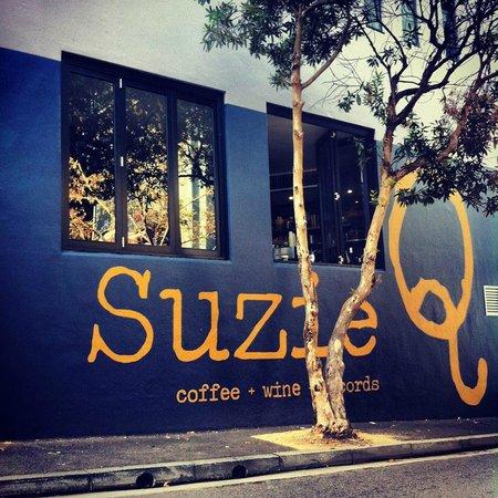 Photo of Cafe Suzie Q Coffee & Records at 1/18 Hutchinson St, Sydney, Ne 2010, Australia