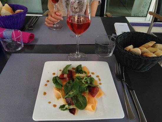 La Table de Florence : Entrée précédée de la mise en bouche