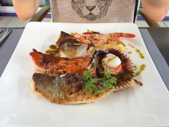 La Table de Florence : Assiette de la mer