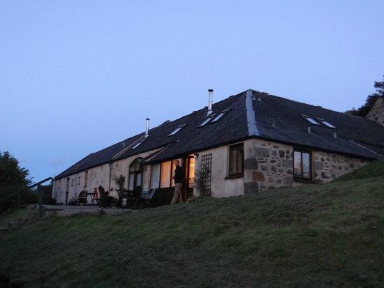 Parkmore Holiday Cottages : Vue du Sheaf End de l'extérieur