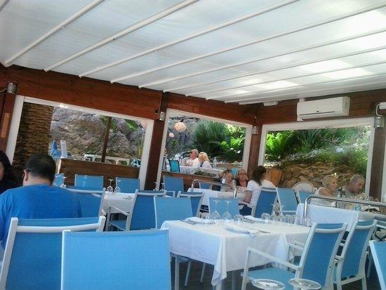 Su Interior Picture Of Restaurante Banys Lluis Sant Pol De Mar Tripadvisor