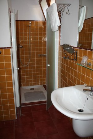 Hotel Hospederia Almunia : Baño hab. Caballista