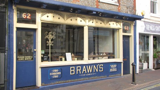 Brawn's of Cowes: Brawns, Cowes, Extremely good food, well presented and very friendly service.
