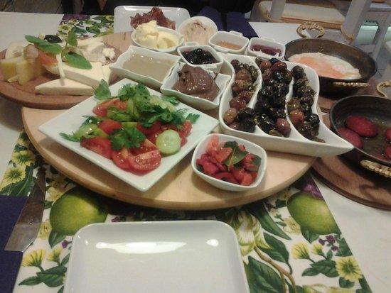 Cook Point Boutique Restaurant: turk kahvaltisi