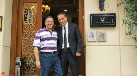 Sultans Royal Hotel: Friendly Manager Mr. Murat