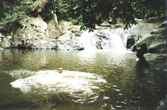 Pala-U Waterfall: good as any place for a dip