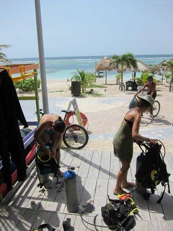 Pepe Dive Mahaual: Unas playas de ensueño