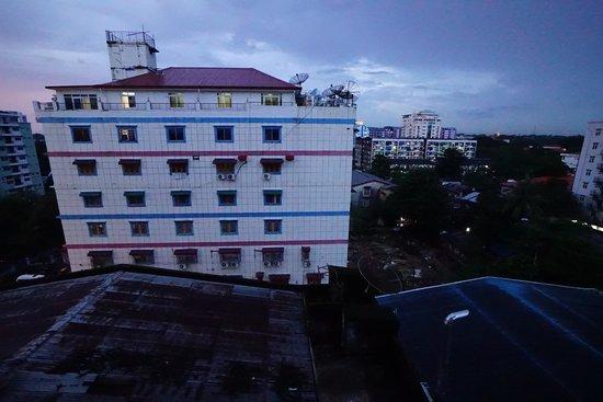 M.G.M. Hotel: 窓からの眺め