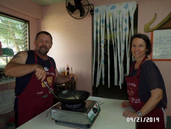 Pat's Thai Cooking School: Thai cooking