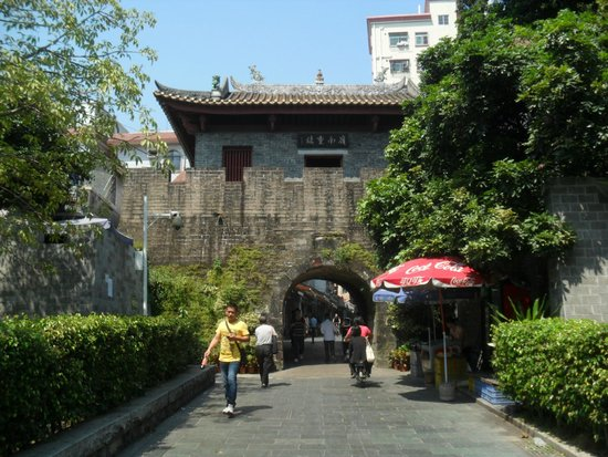Hasil gambar untuk Xin'an Ancient Walled City