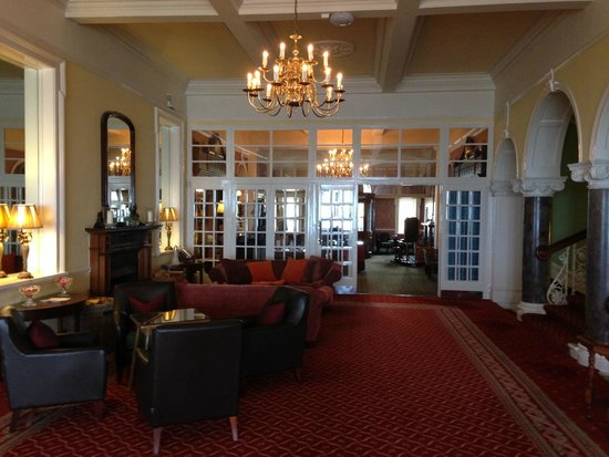 Foyer Hotel Cornwall : Ballroom picture of the headland hotel spa newquay