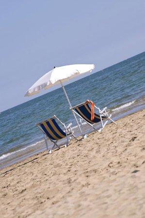 Hotel Mirafiori: Spiaggia