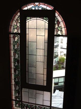 Hotel San Regis : Stained Glass Windows