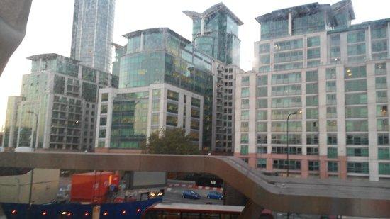 Travelodge London Vauxhall Hotel: A través de la ventana de mi habitación