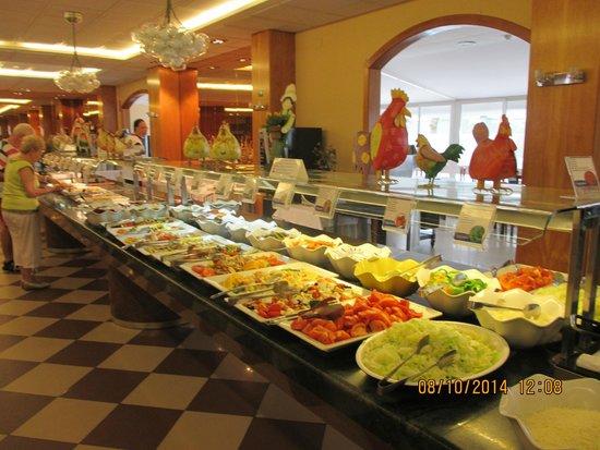 Aparthotel Best Da Vinci Royal : prima maaltijden