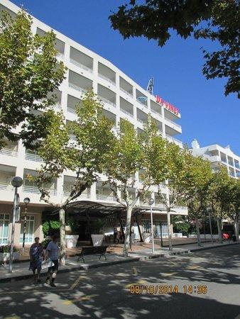 Aparthotel Best Da Vinci Royal : hotel aan de voorzijde