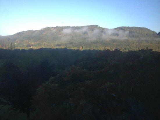 Maes-y-Garth: Breakfast View...