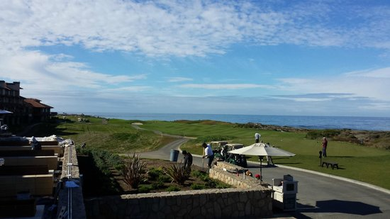 The Links at Spanish Bay: Over looking the first hole