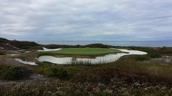 The Links at Spanish Bay: Par three 8th
