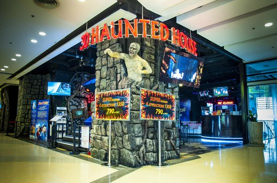 Pattaya, Thailand: 3D Haunted House