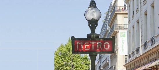 Holiday Inn Paris Opera-Grands Boulevards: Hotel exterior