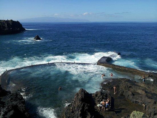 Natural swimming pool fotograf a de piscina natural for Piscinas naturales los gigantes