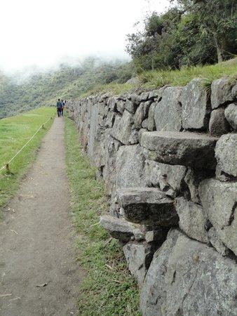 Escaleras naturales de piedra para subir entre terrazas - Escaleras de piedra ...