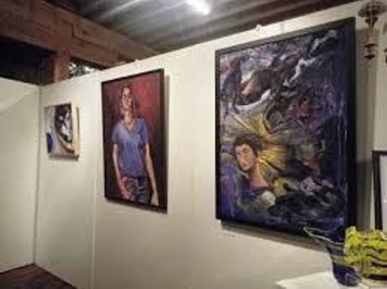 Rocky Mount, VA: art done at the center on display