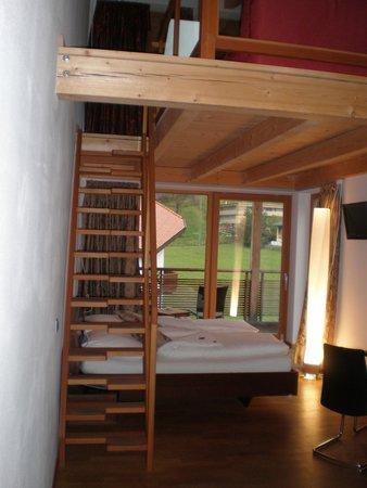 Camera con soppalco - Picture of Garni - Hotel Am Burghuegel, San ...