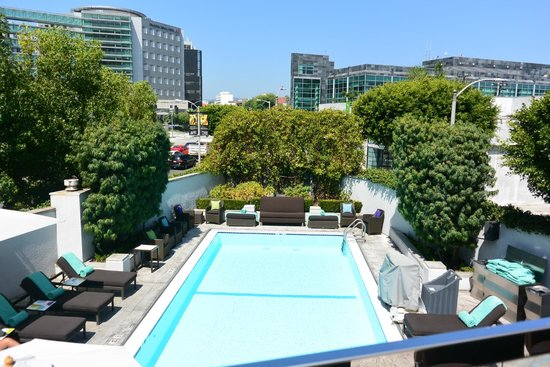 Sofitel Hotel  Beverly Blvd Los Angeles Ca