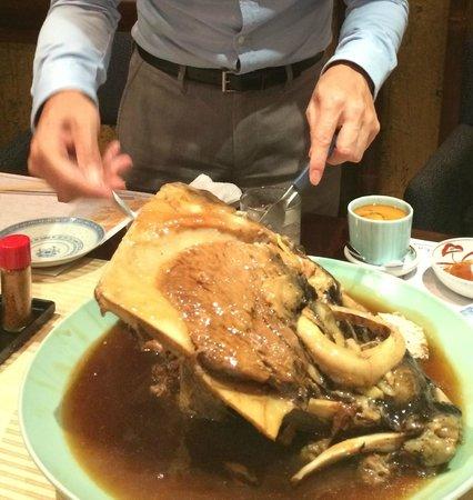 Honoka: 特大マグロのカマ