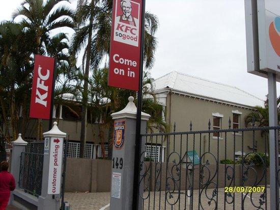 The Benjamin: KFC next door