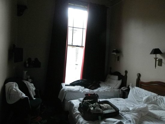 Our room at  the Townhouse