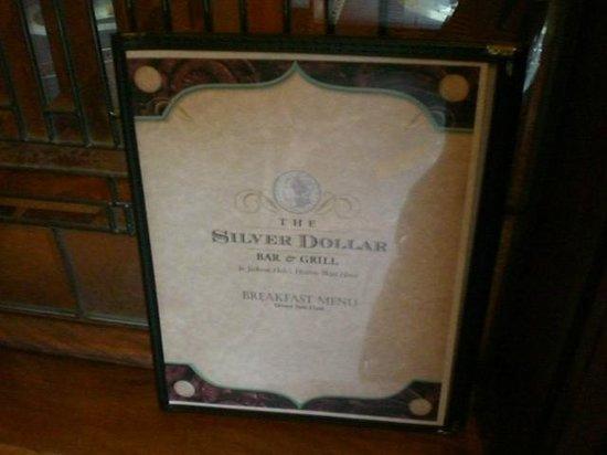Silver Dollar Grill: Silver Dollar Bar & Grill Sign