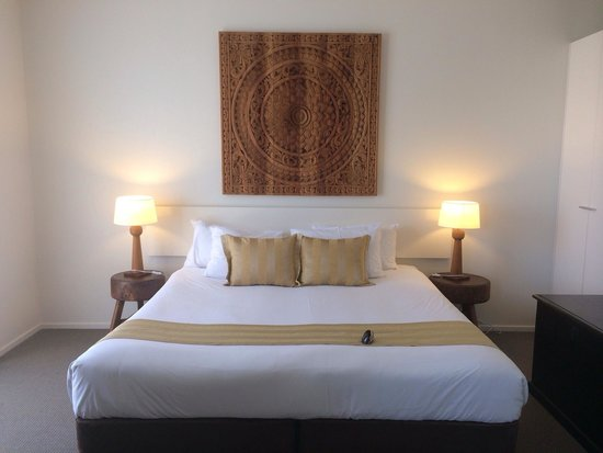 Byron Bay Hotel & Apartments : Bedroom