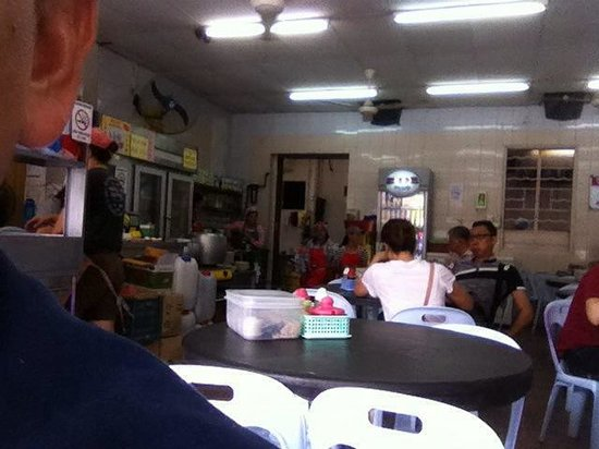 Kedai Kopi Melanian 3: Inside view of the coffee shop
