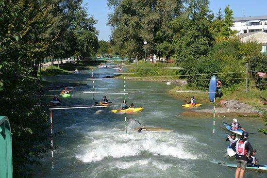 Huningue, Francia: Le bassin