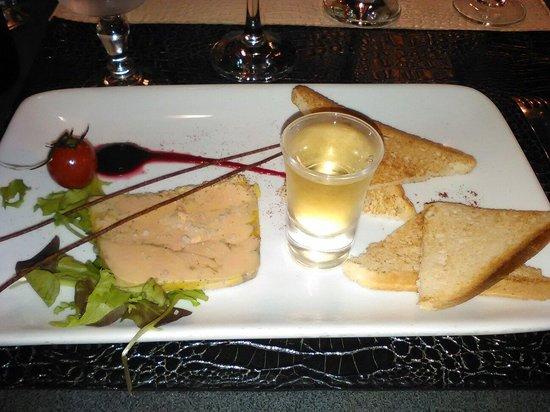 La Goelette : Fois gras, clin d'oeil avec le petit moelleux.