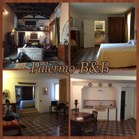 Ai Cartari B&B: The main lobby/sitting area and our apartment!