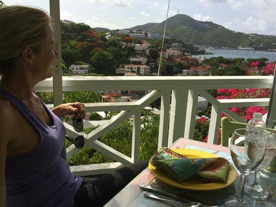 Bellavista Bed & Breakfast: View from breakfast