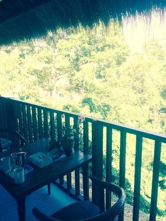 Ubud Dedari Villas: Balcony view, breakfast everyday