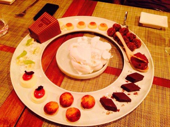 Restaurante Oro: Não dá pra saber o que é só pela foto, tem que comer pra saber!��