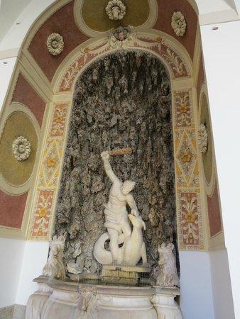 Residenzgalerie Salzburg: ヘラクレス像?